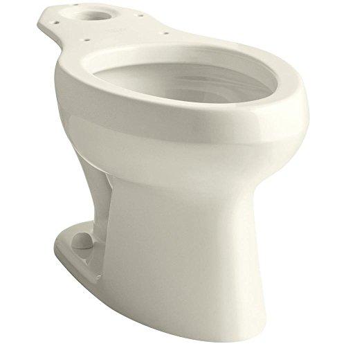 KOHLER K-4303-96 Wellworth Pressure Lite Toilet Bowl, Biscuit (Bowl Only) (Toilet Bowl Lite Wellworth Pressure)