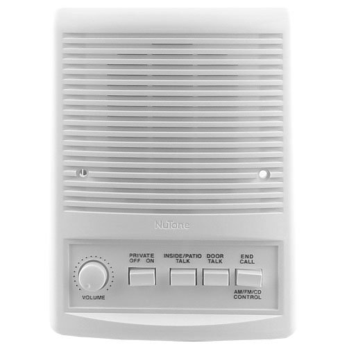 - Nutone ISA-449WH Intercom Patio Speaker IS449WH For IMA4406