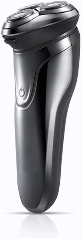 Nueva máquina de afeitar eléctrica, pop-up trimmer de sistema de seguimiento de contorno, potente batería resistente al agua, la hoja afilada de tres cabezas, barba limpiado para los hombres.