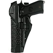 BLACKHAWK! SERPA Level 3 Auto Lock Duty Holster - Basketweave Finish