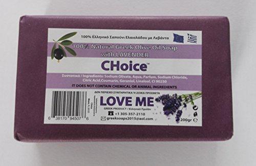 Love Me Natural Soap w/ Lavender & Olive Oil 200gr