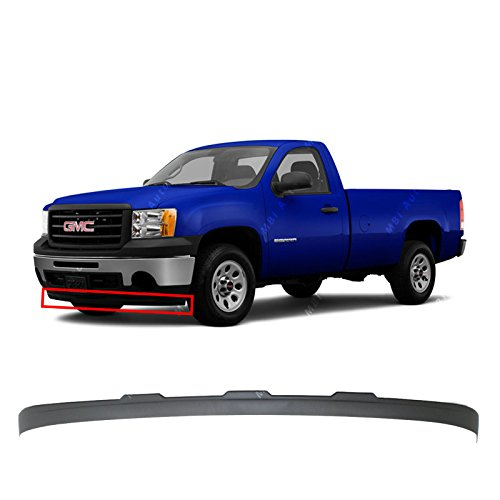 MBI AUTO - Textured, Front Bumper Lower Air Deflector for 2007-2013 GMC Sierra 1500 Pickup 07-13, GM1092211 ()