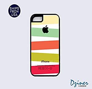 iPhone 5 5s Tough Case - Mix Colorful Stripes iPhone Cover
