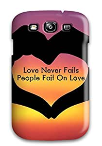 Galaxy S3 Case Cover Love Case - Eco-friendly Packaging