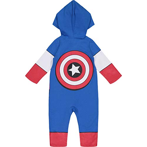 Marvel Spiderman Baby Costume Coverall with Hood
