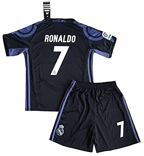 #7 Cristiano Ronaldo 3rd Away Kids Soccer Jerseys 16/17 ()