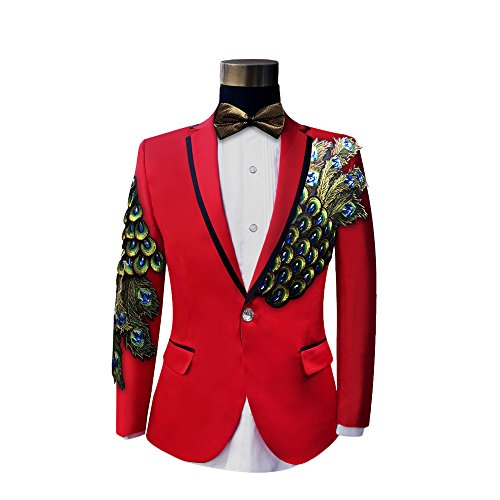 Cloudstyle One Button Wedding Blazer Jacket product image