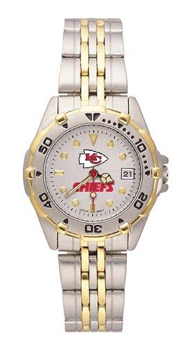 Kansas City Chiefs Women's All Star Watch Stainless Steel Bracelet by LogoArt