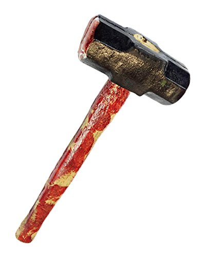 Horror Costumes Comic Con (Blood Soaked DEMOLITION SLEDGE HAMMER , Theater , Movie Horror Prop)