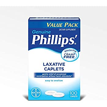 Phillips Laxative Caplets (100-Count Box)