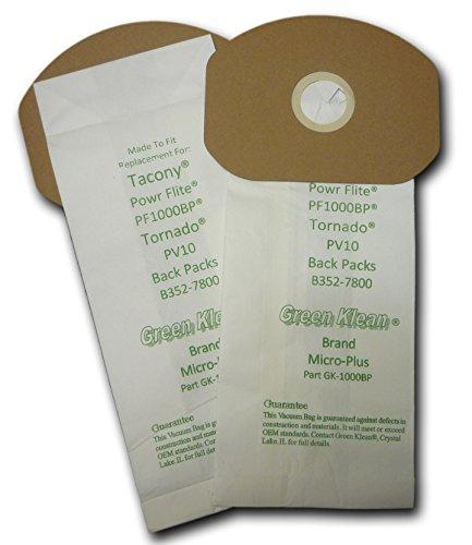 Green Klean GK-1000BP Replacement Vacuum Bags (Pack of 100)