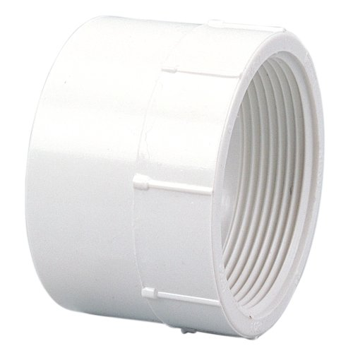 "NIBCO 4803 Series PVC DWV Pipe Fitting, Adapter, 4"" Hub x NPT Female"
