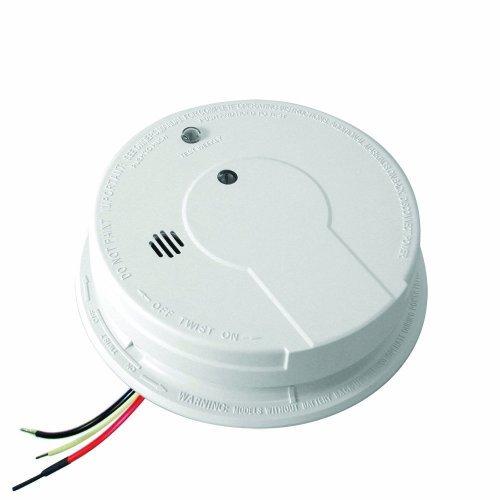 Kidde PE120 Hardwire with Battery Backup Photoelectric Sensor Smoke Alarm