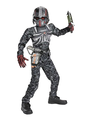 Recon Commando Classic Muscle Costume - Medium (7-8)