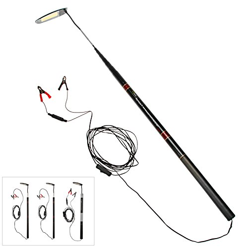 telescopic rod camping lantern  hugmania pro ultra bright led light lamp for road trip self