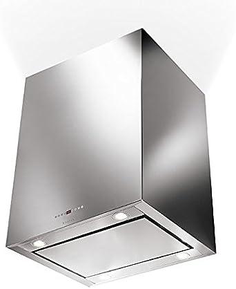 Faber – Campana de isla Cubia Isola Plus, acabado en acero inoxidable de 90 cm: Amazon.es: Grandes electrodomésticos