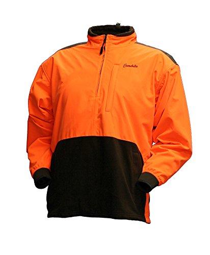 Gamehide Marsh Lord Waterproof / Breathable Blaze Orange Pullover Jacket, Blaze, L