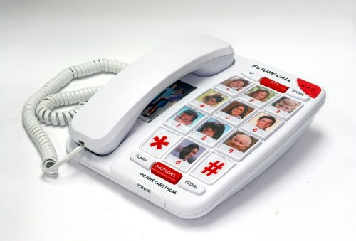 Future Call - Picture Care Phone with 40dB + Parallel Dialing - NEW FEATURE