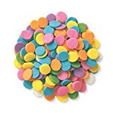 Edible Confetti Sprinkles Cake Cookie Cupcake Quins Pastel Sequin (8 Ounces)