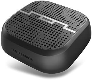 SOL REPUBLIC Punk Wireless Portable Bluetooth Speaker – Water & Sand  Resistant, 8ft Range, Quick Bluetooth Pair, Ultra Portable, Aux In, Aux  Out,