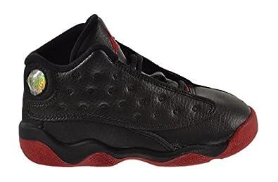buy popular e6db7 06903 47f7a 133d5  norway jordan 13 retro dirty bred bt baby toddler shoes black  gym red black 414581 003