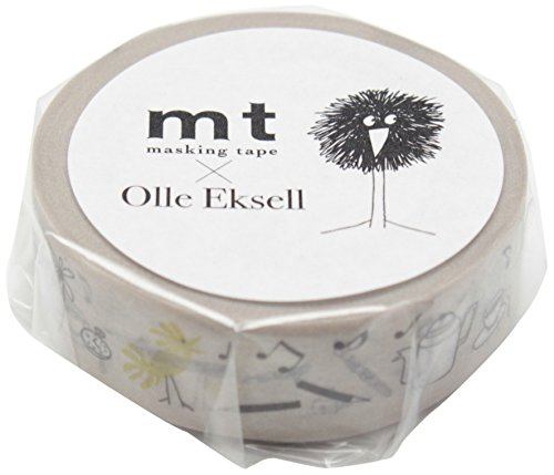 Mt Washi Masking Tapes MT Olle Eksell - Bird Pencil