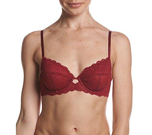 Best Full Coverage Bra (Calvin Klein Women's Seductive Comfort Three Piece Full Coverage Unlined Bra, Intoxicate, 36DD)