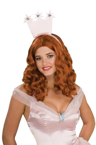 Secret Wishes  Women's Wizard of Oz Glinda Wig, Red/Bronze, Adult -