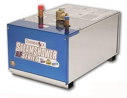 thermasol ssa 240 240 cubic feet af series steam shower generator - Steam Shower Generator