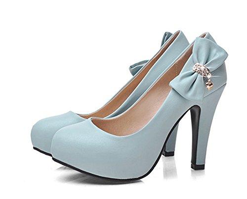 light blue dress shoes - 2