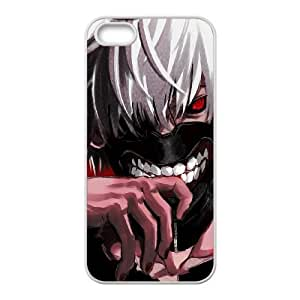 High Quality Specially Designed Skin cover Case Tokyo Ghoul iPhone 5 5s Cell Phone Case White
