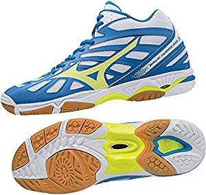 Mizuno Wave Hurricane 3Mid–Chaussures Homme–Mens Volleyball Volleyball Shoes–v1ga174544