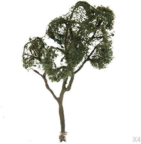 Hellery 樹木 紅葉 モデルツリー 1:75 高さ12cm 鉄道模型 ジオラマ 箱庭 鉄道風景 グリーン