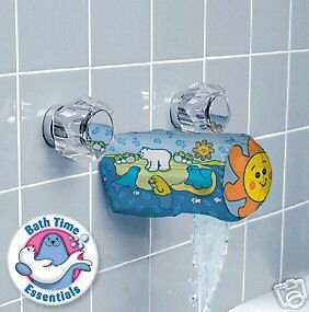 Baby Bath Soft Spout Cover Tap Safety 1st Inflatable Protector