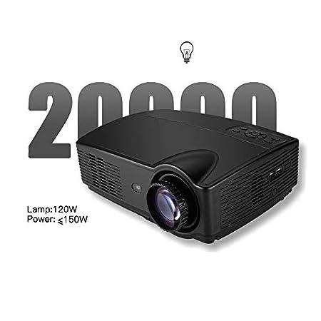 Augu Proyector Inteligente Proyector de Video casero LED 2800 ...