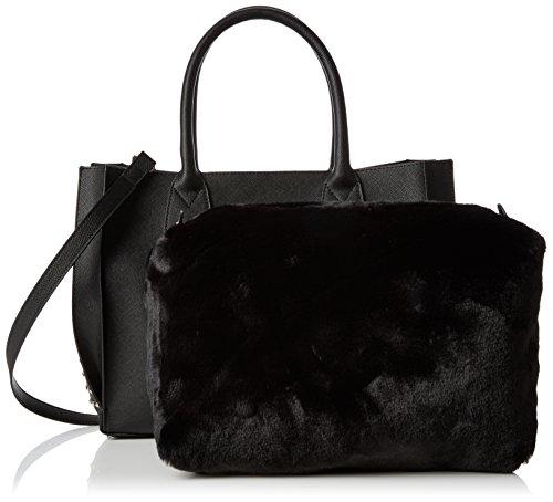 Black épaule Sacs Steve portés Badele Noir Footwear Patent Madden Shoulderbag Bn4q48wf