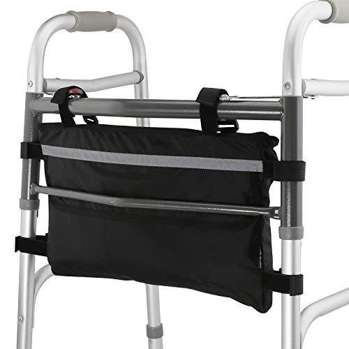 (GUOER Walker Bag Suitable for Multiple Walking Aids Rollator Bag Multi-Size Multiple Colors (9.8Wx15.7L IN,Color9805) )