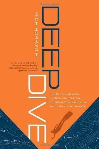 Deep Dive: The Proven Method for Building Strategy, Focusing Your Resources, and Taking Smart Action 2nd (second) by Rich Horwath (2009) Hardcover
