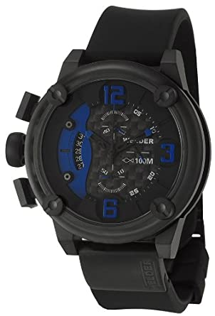 Welder by U-Boat K28 Oversize Chronograph Black Ion-Plated Steel Mens Watch K28-7103