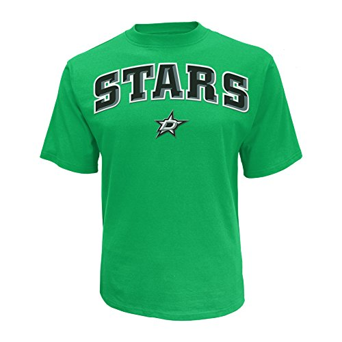 - Knights Apparel NHL Dallas Stars Men's Cotton Tee, Small, Green