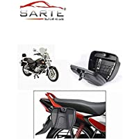 Sarte Bike Side Luggage Holder with Lock- Universal Luggage Holder for All Bikes