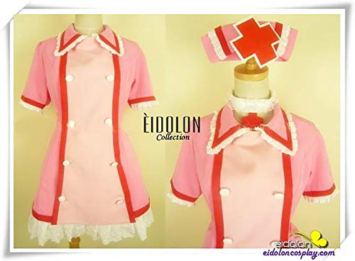 Vocaloid 2 Love Ward Hatsune Miku Cosplay Halloween Costume Game for Cosplay Show Party Women Girl,M -