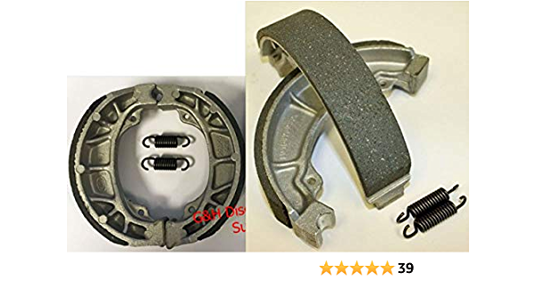 Foreverun Motor Front and Rear Brake Shoes for Honda ATC 200 M ...