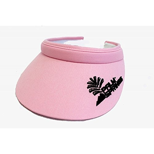 Palm Springs Golf Lady Soft Clip Visors (Pink)