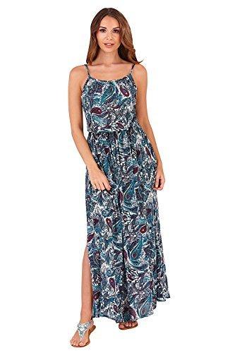 sans long haut t femmes Pistachio femmes longue en Sarcelle robe blouse coton Vert manches 8zwqw5