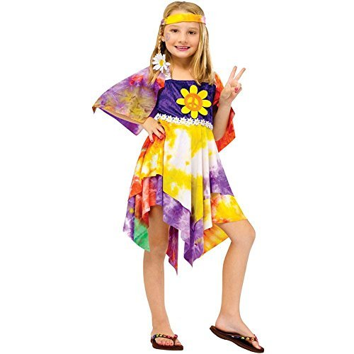 Daisy Hippie Girl Costume - Large]()
