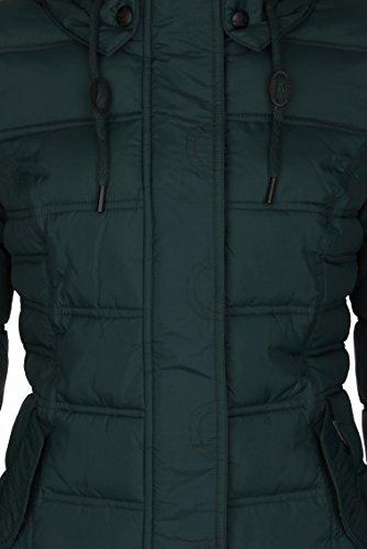 DreiMaster - Anorak con capucha amovible 36134890 - Mujer Tannengrün
