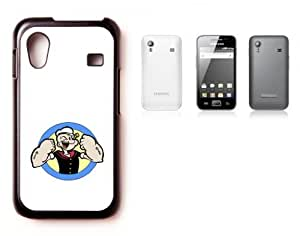 Samsung Galaxy Ace 5830 Hard Case with Printed Design Popeye White