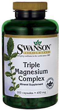 Triple Magnesium Complex 400 mg 300 Caps 2 Bottles