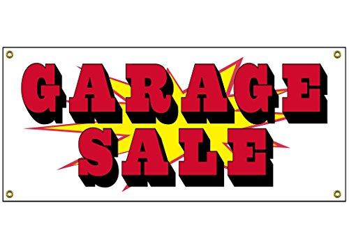 Garage Sale Banner Retail Store Home Shop Business Sign 36